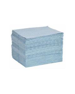 Blue Single-Weight Oil-Only Sorbency Pads by Spilltech - Item #BPF200S