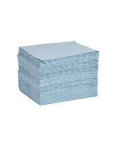 Blue Heavy-Weight Oil-Only Sorbency Pads by Spilltech - Item #BPKF50H
